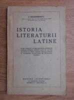 Ion Diaconescu - Istoria literaturii latine (1931)