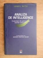 Ionel Nitu - Analiza de intelligence