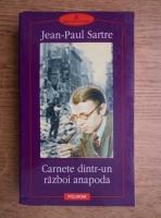 Jean Paul Sartre - Carnete dintr-un razboi anapoda