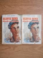 Mihail Drumes - Elevul Dima dintr-a sapte (2 volume, 1946, prima editie)