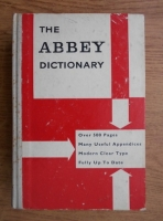 Anticariat: R. F. Patterson - The Abbey dictionary