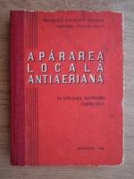 Anticariat: Apararea locala antiaeriana