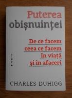 Charles Duhigg - Puterea obisnuintei. De ce facem ceea ce facem in viata si in afaceri