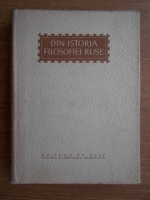 Anticariat: Din istoria filosofiei ruse. Culegere de articole