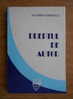 Yolanda Eminescu - Dreptul de autor