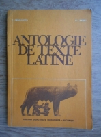 Anticariat: C. Dragulescu - Antologie de texte latine