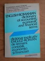 Anticariat: Frederick Henry Duncan - Dictionar explicativ englez-roman de termeni contabili, economici si financiari