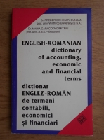 Frederick Henry Duncan - English-romanian dictionary of accounting, economic and financial terms