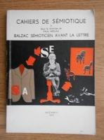 Paul Miclau - Balzac semioticien avant la lettre