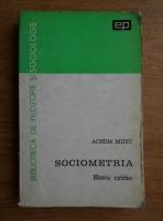 Achim Mihu - Sociometria. Eseu critic