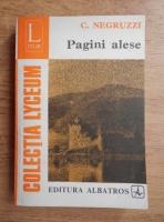 Anticariat: Costache Negruzzi - Pagini alese