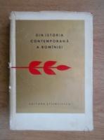 Anticariat: Din istoria contemporana a Romaniei. Culegere de studii