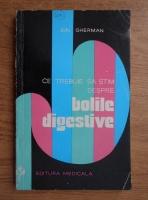 Anticariat: Ion Gherman - Ce trebuie sa stim despre bolile digestive