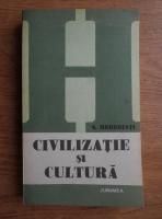 Simion Mehedinti - Civilizatie si cultura