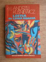Anticariat: Andrzej Kusniewicz - Lectia de limba moarta