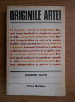 Anticariat: Dumitru Matei - Originile artei