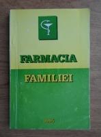 Anticariat: Farmacia familiei. Agenda medicala pentru fiecare familie