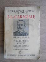 Ion Luca Caragiale - Opere alese. Teatru (volumul 2, 1940)