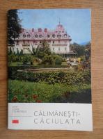 Vasile Berbece - Calimanesti-Caciulata. Petit guide touristique