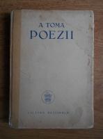 Atanasie Toma - Poezii (1926)