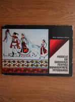Elvira Zamfirescu-Talianu - Modele de broderie pentru ornamentatie interioara