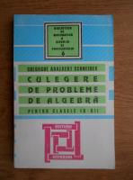 Gheorghe Adalbert Schneider - Culegere de probleme de algebra pentru clasele IX-XII