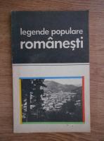 Anticariat: Legende populare romanesti. Jocuri si legende