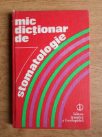 Anticariat: Memet Gafar - Mic dictionar de stomatologie