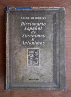 Sainz de Robles - Diccionario Espanol de sinonimos y antonimos