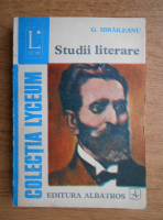 Garabet Ibraileanu - Studii literare