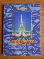 Gh. Bulgar - Carnet francez. Paris 1965-1967, 1987