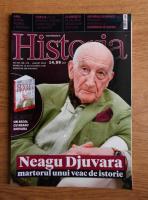 Anticariat: Revista Historia. Neagu Djuvara, martorul unui veac de istorie, an XVI, nr. 175, august 2016