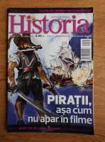 Anticariat: Revista Historia. Piratii, asa cum nu apar in filme, anul XIII, nr. 140, septembrie 2013