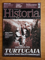 Anticariat: Revista Historia. Turtucaia, an XVI, nr. 176, septembrie 2016