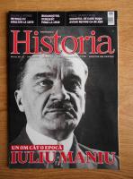 Anticariat: Revista Historia. Un om cat o epoca, Iuliu Maniu, anul XVI, nr. 171, aprilie 2016