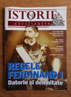Anticariat: Revista Istorie si civilizatie, anul IV, nr. 34, iulie 2012