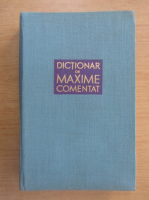Anticariat: Tudor Vianu - Dictionar de maxime comentat