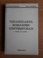 Anticariat: Vasile Serban - Vocabularul romanesc contemporan. Schita de sistem