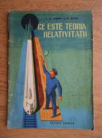 Anticariat: L. D. Landau - Ce este teoria relativitatii
