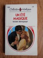 Violet Winspear - Un ete magique