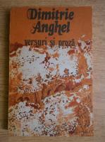 Anticariat: Dimitrie Anghel - Versuri si proza