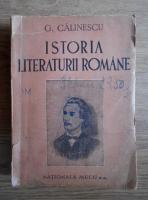 George Calinescu - Istoria literaturii romane (1946)