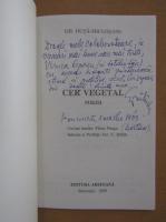 Anticariat: Gh. Duta Miclosanu - Cer vegetal (cu autograful autorului)