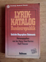 Anticariat: Jan Hans - Lyrik Katalog
