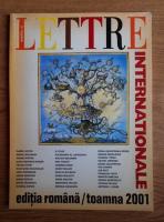 Anticariat: Lettre Internationale, numarul 39, toamna 2001