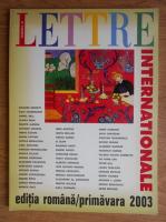 Anticariat: Lettre Internationale, numarul 45, primavara 2003