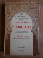 Anticariat: Lope de Vega - Teatru ales (1943)