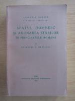 Gheorghe I. Bratianu - Sfatul domnesc si adunarea starilor in principatele romane