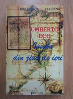 Anticariat: Umberto Eco - Insula din ziua de ieri