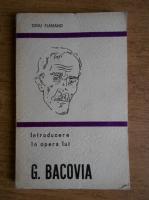 Anticariat: Dinu Flamand - Introducere in opera lui George Bacovia